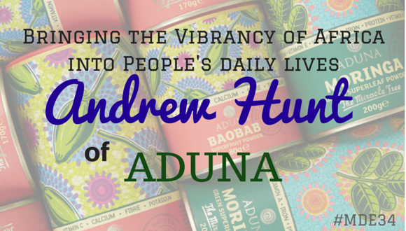 Andrew Hunt of Aduna