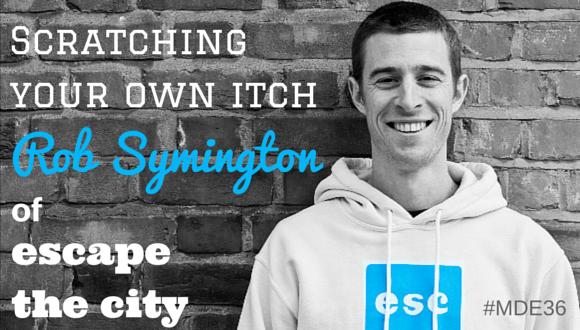 Rob Symington of Escape the City