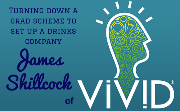 The Career Farm Podcast with Jane Barrett - James Shillcock of Vivid Drinks