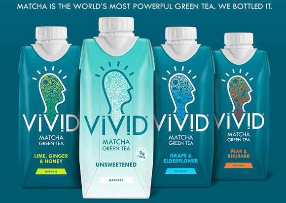 Vivid Drinks Macha Green Tea - The Career Farm Podcast with Jane Barrett
