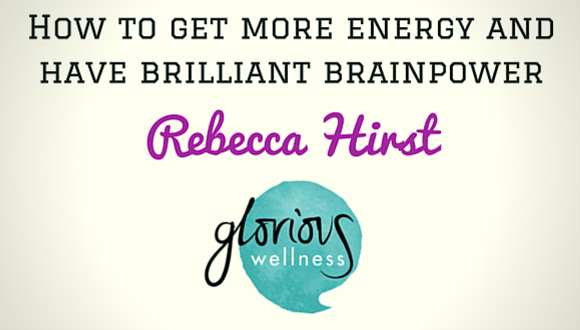The Career Farm Podcast with Jane Barrett - How to get more energy & have brilliant brainpower